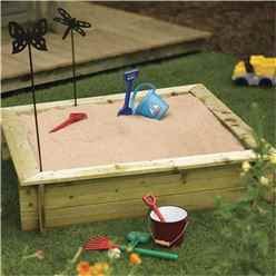 4ft x 4ft Deluxe Sandpit (1200mm x 1200mm)