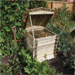 "Deluxe Beehive Composter 2'5"" x 2'5"""