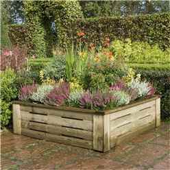 4 x 4 Deluxe Raised Planter