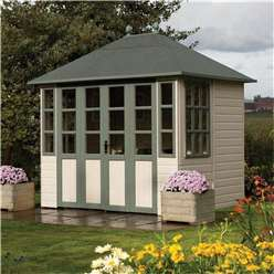 9ft x 7ft Deluxe Summerhouse (Tongue and Groove Floor)