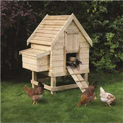 Deluxe Small Chicken Coop