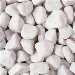 Bulk Bag 850kg Spanish White Cobbles Gravel