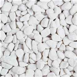Bulk Bag 850kg Spanish White Pebbles Gravel