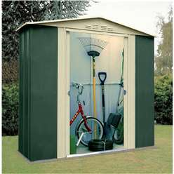 6 x 3 Deluxe Six Metal Shed