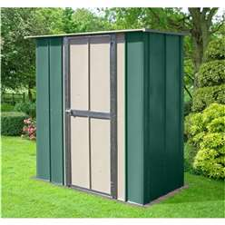 6ft x 3ft Deluxe Utility Metal Shed (1.83m x 0.92m)