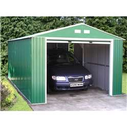 12ft x 20ft Budget Metal Garage (3.72m x 6.04m)