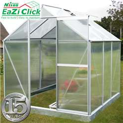 6ft x 6ft Eazi Click Greenhouse + FREE BASE