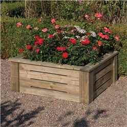 3 x 3 Deluxe Raised Planter