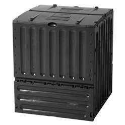 Deluxe Eco King Composter 600 Black