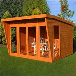 10ft x 10ft Wooden Summerhouse (12mm Tongue and Groove Floor)