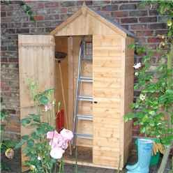3ft x 2ft Handy Wooden Tongue and Groove Store (11mm Solid OSB Floor)