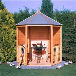 7ft x 6ft Wooden Gazebo