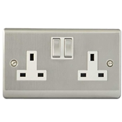 Electric Pack 4 (8 Double Sockets + 4 Lighting Feed + Outdoor Light And Sensor Pack + 2 Network And Telephone Socket)