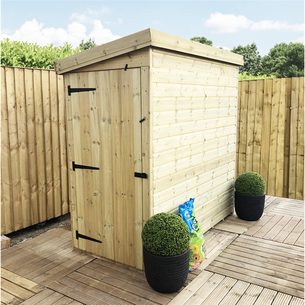 3 X 6 Pressure Treated Pent Shed