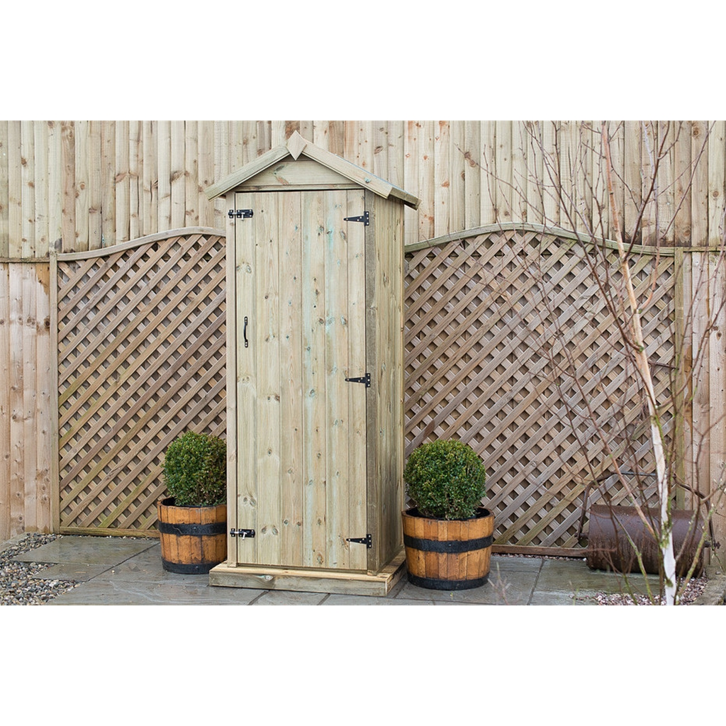 Pressure treated garden shed uk