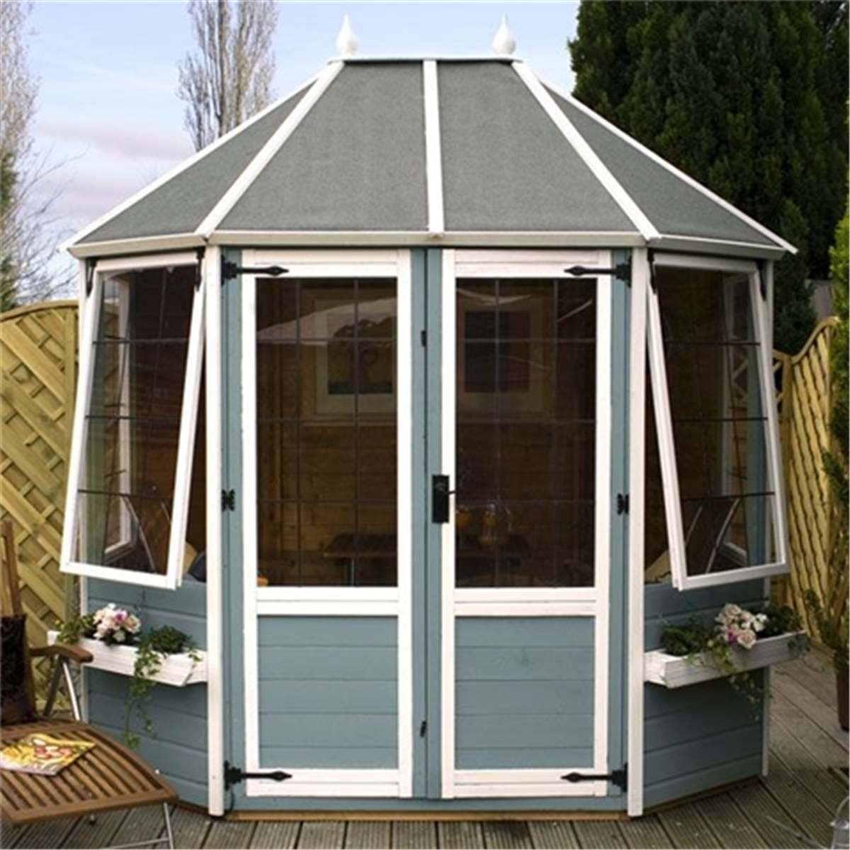 Winsome Installed  X  Premier Octagonal Summerhouse  Includes Installation With Hot Escape Summerhouses Installed  X  Premier Wooden Octagonal Garden  Summerhouse Mm Tongue And Groove Floor  Includes Installation With Beauteous Cath Kidston Gardening Also Guardian Garden Shop In Addition Rectangular Garden Pots And Garden Swing Seat Bed As Well As Gardening Services Chelmsford Additionally Carpet Cleaning Welwyn Garden City From Ilikeshedscom With   Hot Installed  X  Premier Octagonal Summerhouse  Includes Installation With Beauteous Escape Summerhouses Installed  X  Premier Wooden Octagonal Garden  Summerhouse Mm Tongue And Groove Floor  Includes Installation And Winsome Cath Kidston Gardening Also Guardian Garden Shop In Addition Rectangular Garden Pots From Ilikeshedscom
