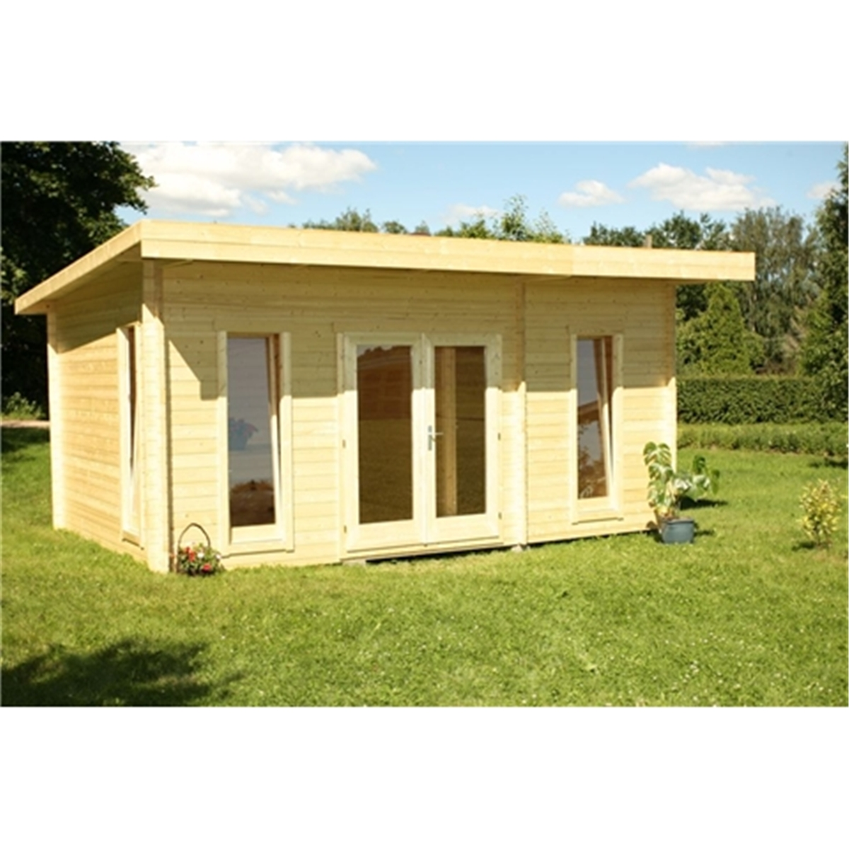 Yukon : 5m X 3m CHEVAK OPEN Log Cabin   FREE FELT ***'NO PARTITION . Full resolution  pic, nominally Width 1200 Height 1200 pixels, pic with #A58D26.