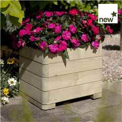 Deluxe Marberry Square Planter 1ft 7 x 1ft 7 (0.50m x 0.50m)