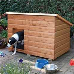 Deluxe Large Dog Kennel 4ft 6 x 2ft 11 (1.38m x 0.9m)