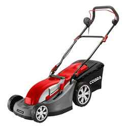 Electric Rotary 4 In 1 Lawnmower - 43cm - Cobra Gtrm43 - Free Next Day Delivery*