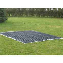 Plastic Ecobase 9ft x 8ft (30 Grids)