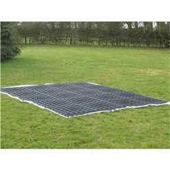Plastic Ecobase 9ft x 8ft (30 Grids)