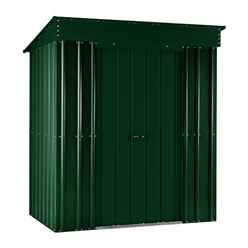 5 X 3 Premier Easyfix Heritage Green Pent Shed (1.58m X 0.92m)