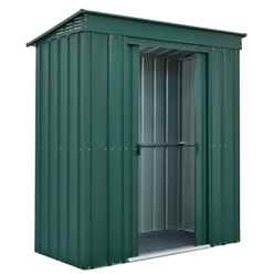 **PRE-ORDER:DUE BACK IN STOCK: 04TH DECEMBER** 6 x 3 Premier EasyFix Heritage Green Pent Shed (1.83m x 0.92m)