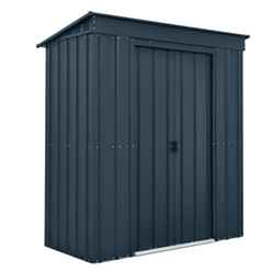 **PRE-ORDER DUE BACK IN STOCK 8TH APRIL 2019** 6 X 3 Premier Easyfix Slate Grey Pent Shed (1.83m X 0.92m)