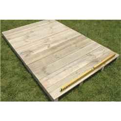 6 x 4 Easyfix Timber Floor Kit (Pent)