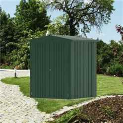 6 x 5 Premier Heavy Duty Metal Dark Green Shed (1.72m x 1.56m)