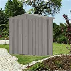 8 X 3 Premier Heavy Duty Metal Quartz Grey Shed (2.44m X 0.84m)