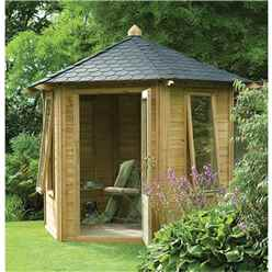 11 X 9 Henley Summerhouse - Assembled
