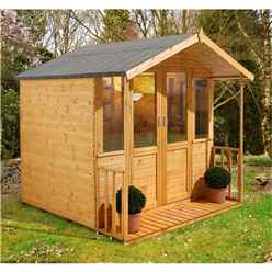 7 x 7 Apex Summerhouse - Assembled