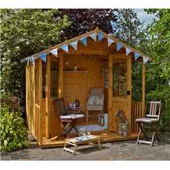 8 x 8 Veranda Summerhouse