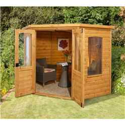 7 x 7 Corner Summerhouse - CORE (BS)