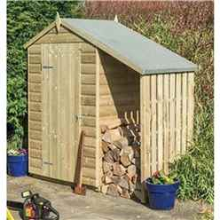 Deluxe 4 X 3 Oxford Shed With Lean To