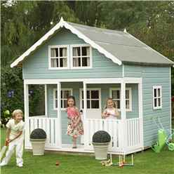 8 x 9 (2.69m x 2.39m) -  Lodge Playhouse - 12mm Tongue and Groove