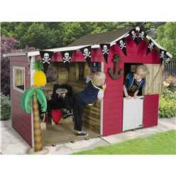 8 x 4 Basil Multi-play Playhouse