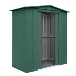 6 x 3 Heritage Green Metal Shed