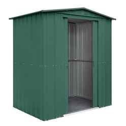 6 X 5 Heritage Green Metal Shed