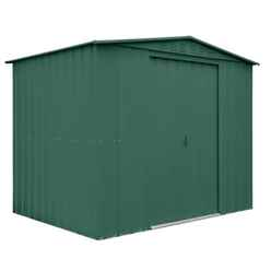 8 X 6 Heritage Green Metal Shed