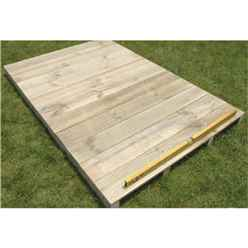 Timber Floor Kit 8 x 5 - (Apex)