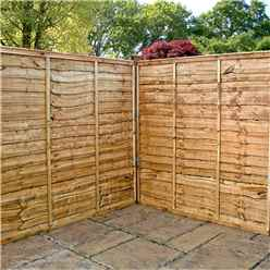 5ft Lap Panel Overlap Fencing Panel - 1 Panel Only + Free Delivery*