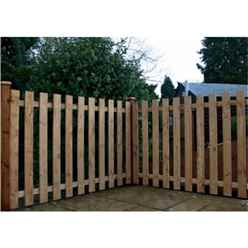3ft Palisade Square Top Fencing Panels - 1 Panel Only + Free Delivery*