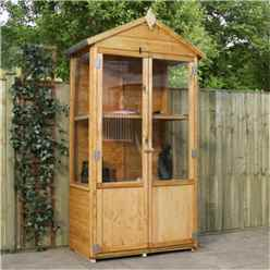 ***disco***installed 3 x 2 Humble Wooden Greenhouse Includes Installation
