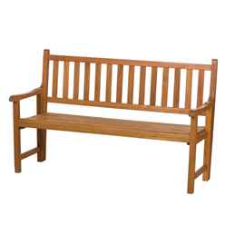 St Andrews 3 Seater Folding Bench - Zero Assembly Bench - Free Next Working Day Delivery (Mon-Fri)