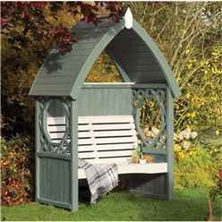 Deluxe Willow Arbour