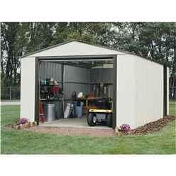 12 x 24 Deluxe Murryhill Metal Garage (3.71m x 7.35m) - Assembled