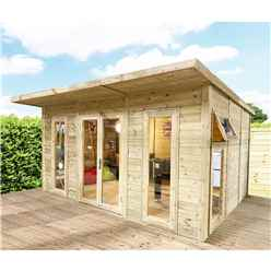 Avon 5m x 3m Insulated Garden Room + Free Installation - Show Site